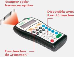 RFID MOBILPROX LECTEUR PORTABLE RFID ET CODE-BARRE